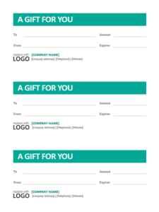3 small business gift certificates