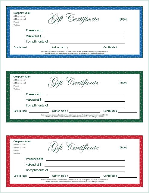Small business gift certificate-template-printable