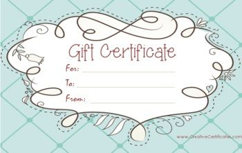 related post red gift certificates