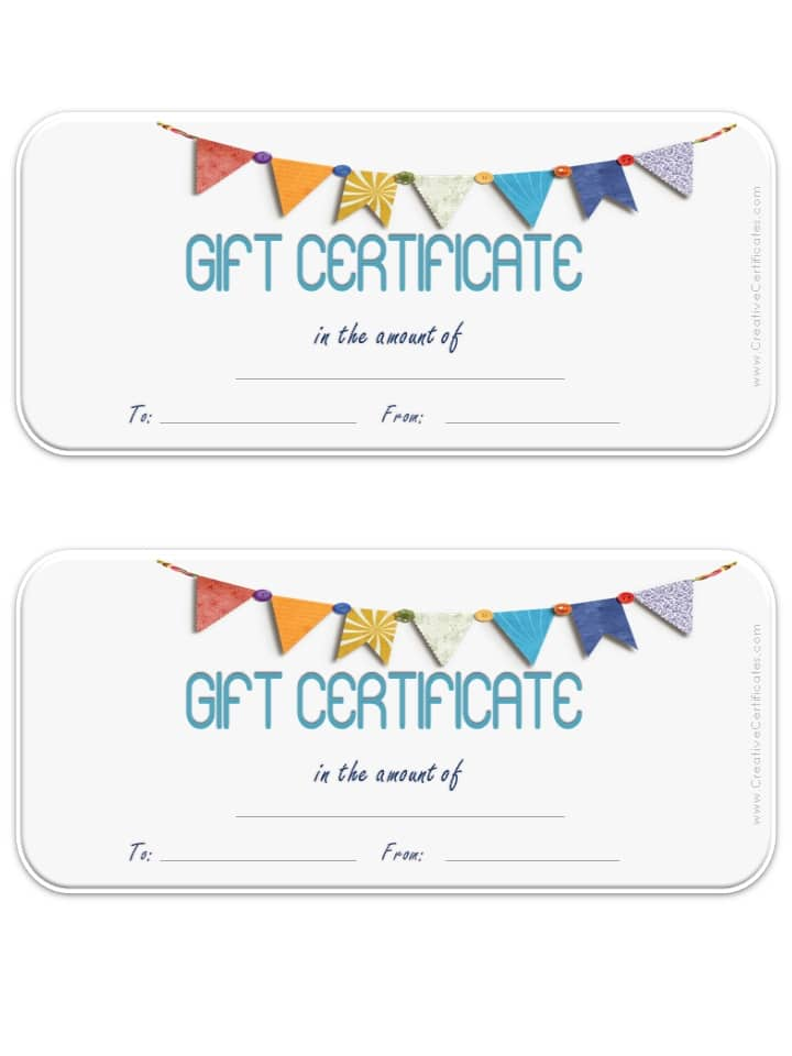 new editable gift certificate templates