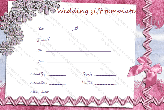 Pink-Lace-Wedding-Gift-Certificate-Template-sample-doc-pdf