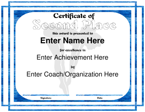 pdf-doc-second-place-certificate-template-editable-word-doc