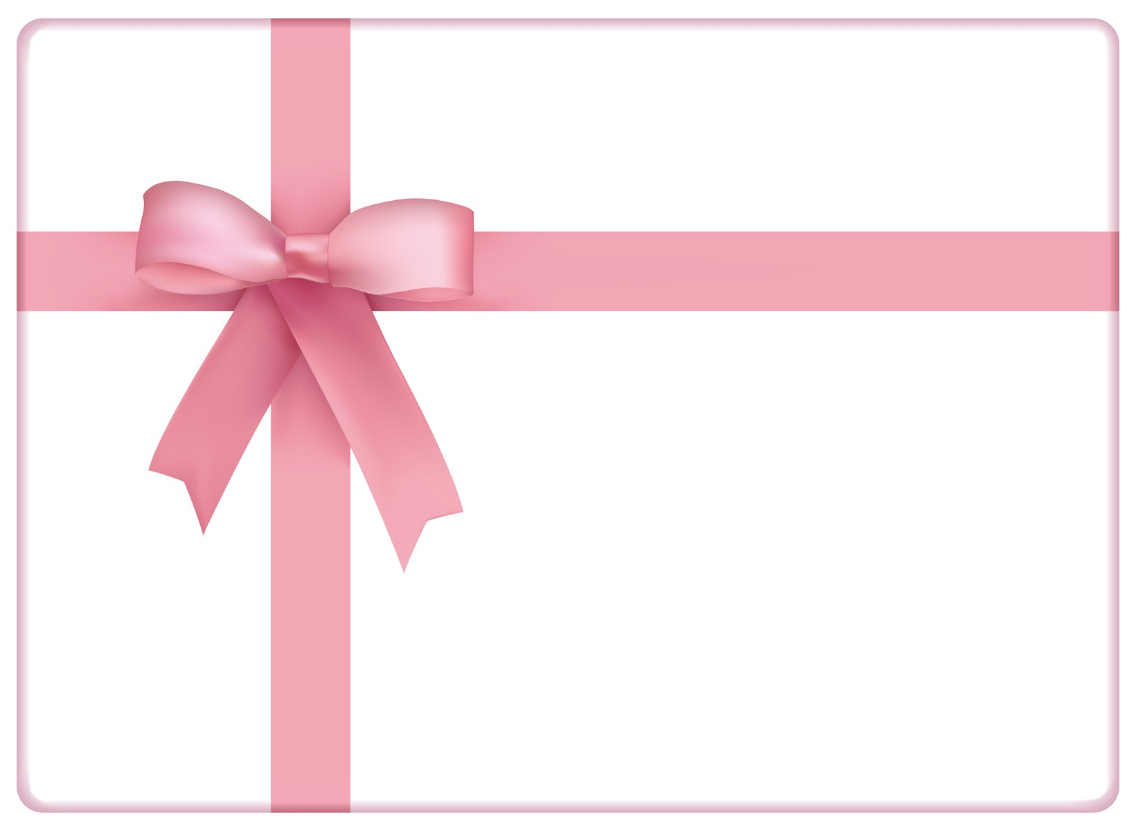 pink-bow-ight pink gift certificates template designs