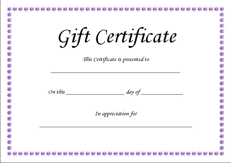 Powerpoint Gift Certificate Template Powerpointthelongwayup Free