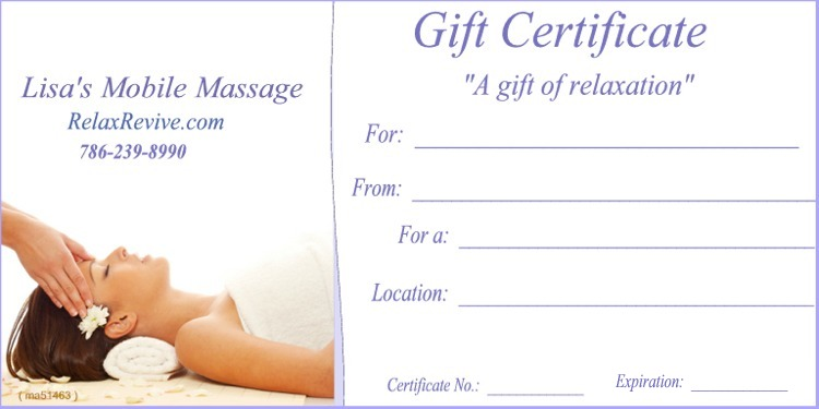 graphic about Printable Massage Gift Certificate identify Mage Reward Certification Templates Present Certification Templates