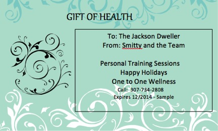 Fitness Gift Certificate Template from giftcertificatesdesigns.com