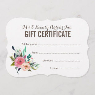 painted_floral_salon_gift_certificate_template